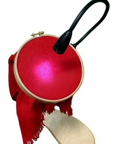 All Purpose Clip On LED Light on Hoop CS06-BK 12