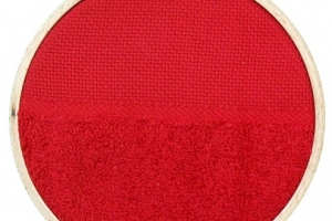 Klass & Gessmann 6 in Embroidery hoop with fabric 202-6