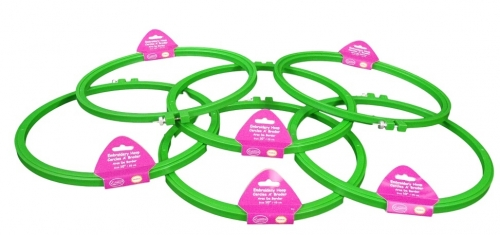 Plastic Embroidery Hoops CNPH 10 Set