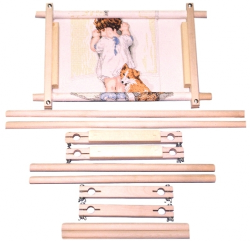 Split Rail Scroll Frame Set 2800