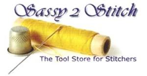 Sassy 2 Stitch Logo