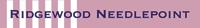 Ridgewood Needlepoint Logo